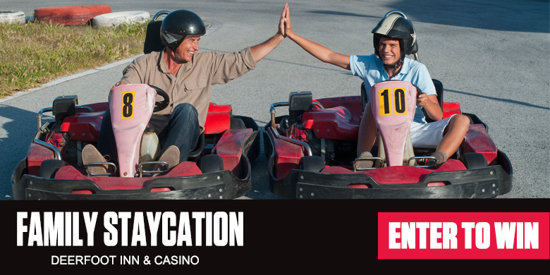 Win A Family Staycation!