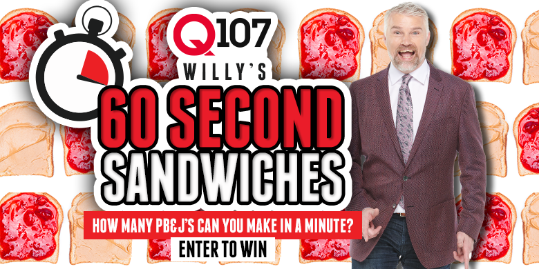 Willy's 60 Second Sandwiches